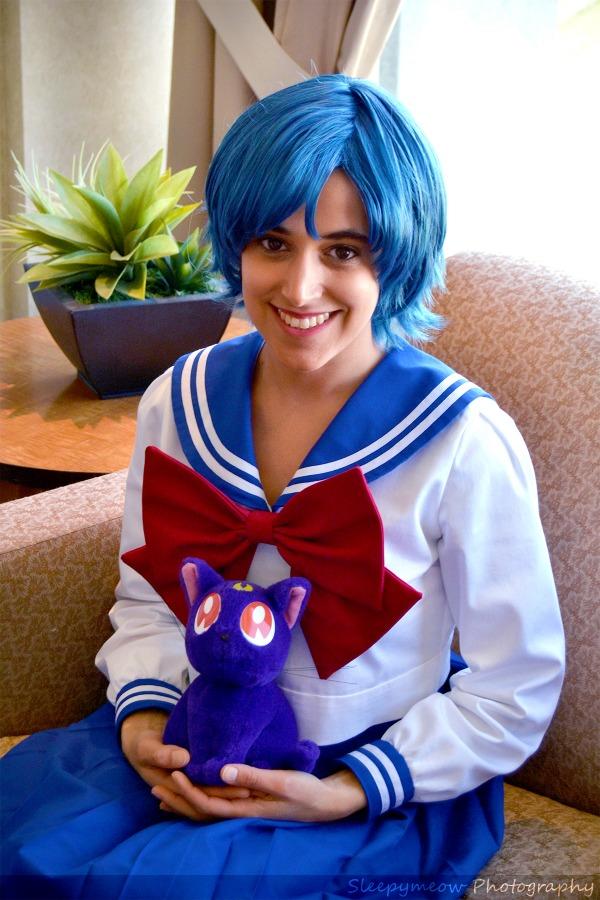 Ami Mizuno Winter School Uniform from Sailor Moon by PANattheDisco
