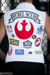 Princess Leia Punk Vest (Star Wars)