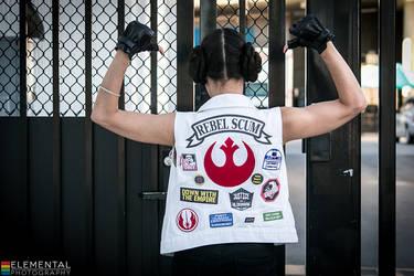 Punk Princess Leia (Star Wars)