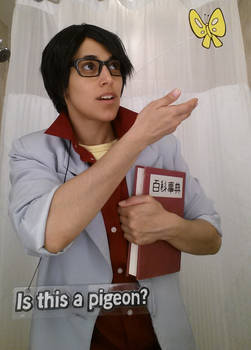 Is This A Pigeon? Meme Cosplay
