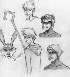 Doodles by kckat