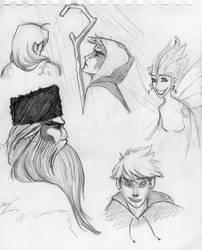 Doodles Dos by kckat