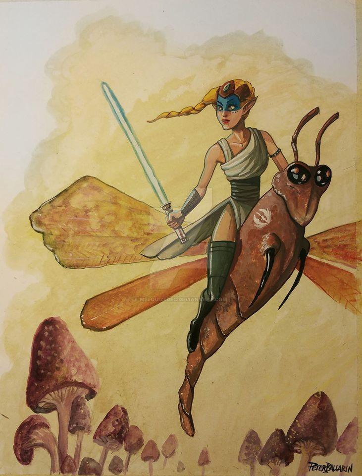 Jedi Fairy by Melquizedec