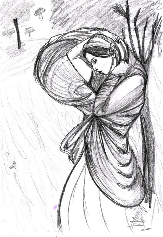 Boreas sketch by HarleyTheGreat