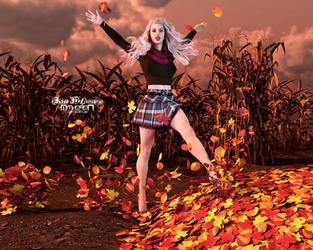 WildDesigns - Autumn Haze Outfit G8F by Mithoron