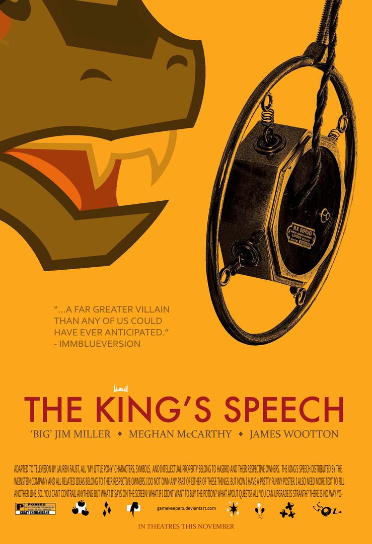 King Sombra's Speech by GameKeeperX
