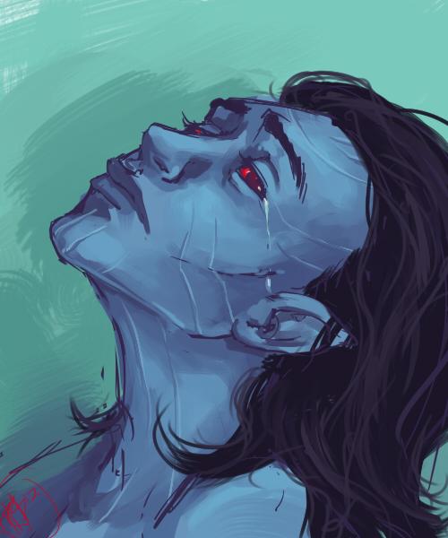 Jotun!Loki by Mocksee