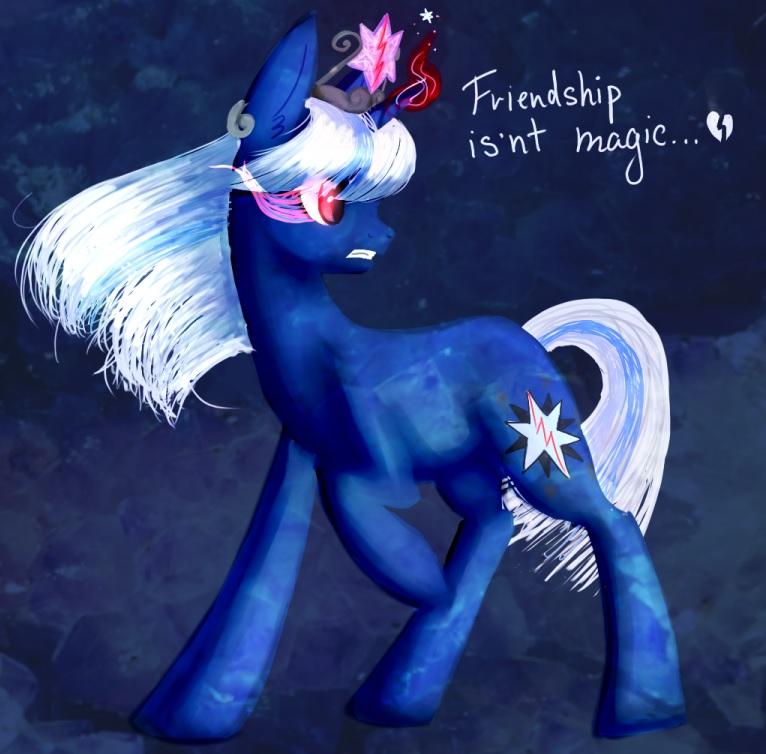 Friendship isn't  magic.... by PurrrfectArtist