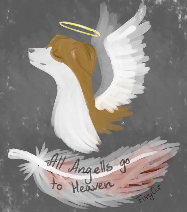 All Angels go to heaven... by PurrrfectArtist