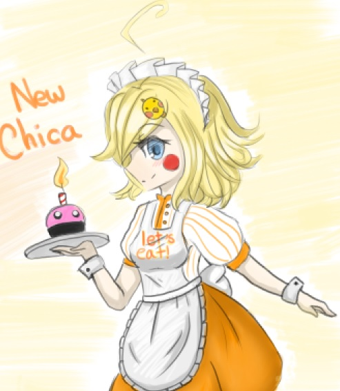 New Chica by PurrrfectArtist