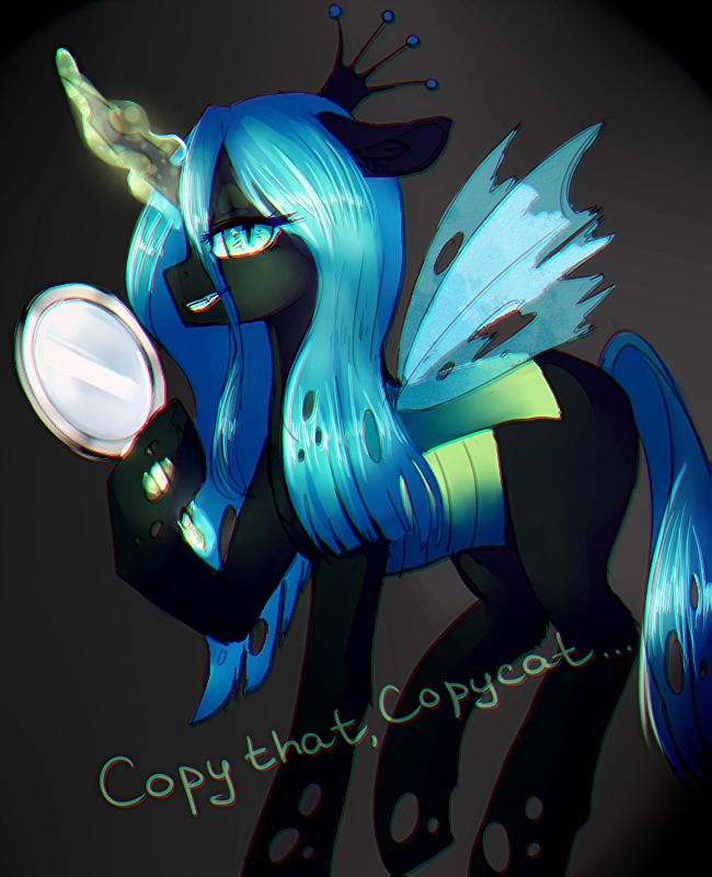 Copy that, Copycat by PurrrfectArtist