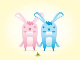 Bunny love by klops05