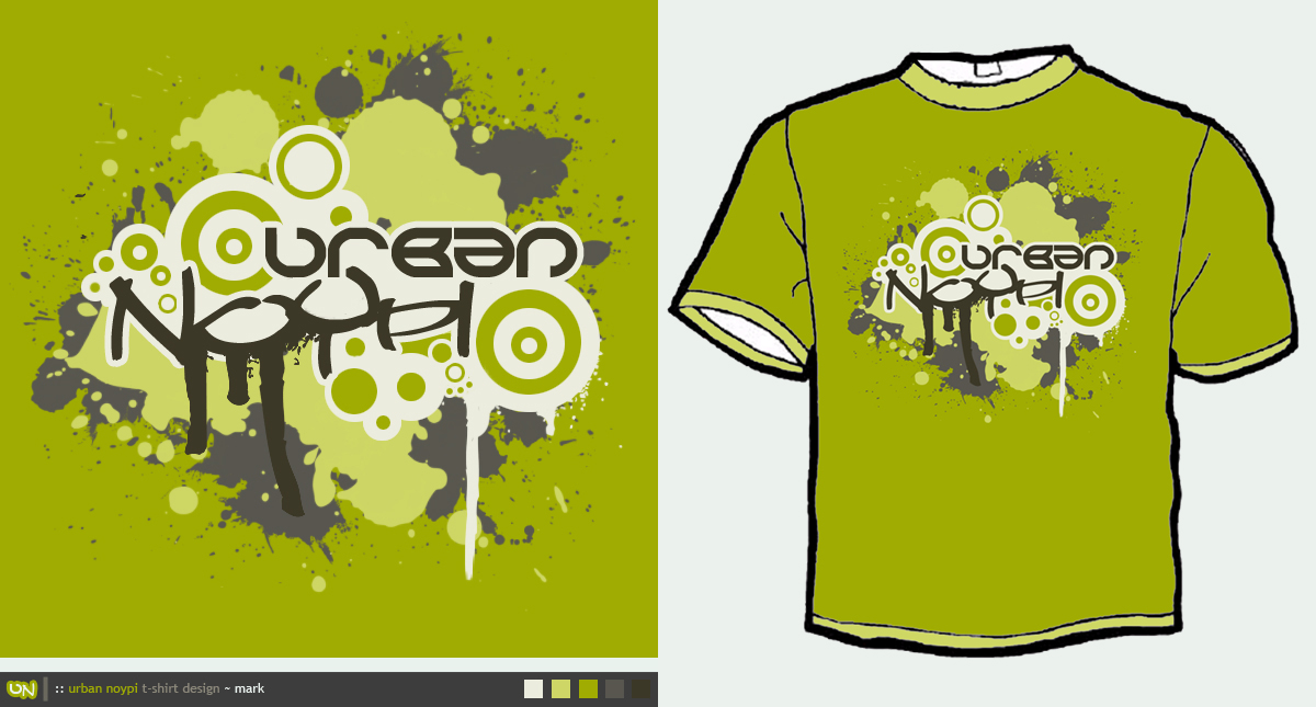 Urban Noypi T-Shirt Design by mjerome