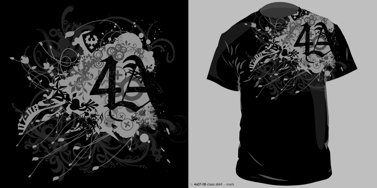 4a Sy 07 08 Class Shirt Design By Mjerome On Deviantart