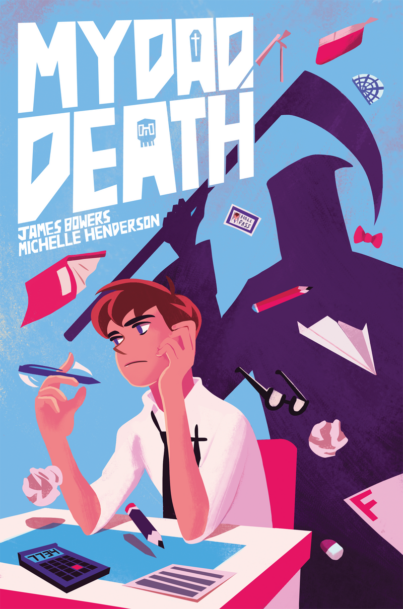 My Dad, Death - Issue 1 - Cover by Tengu-Arts