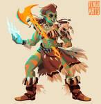 Melaka - Half Orc