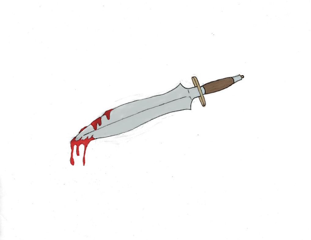 how to draw a bloody battlefield cartoon