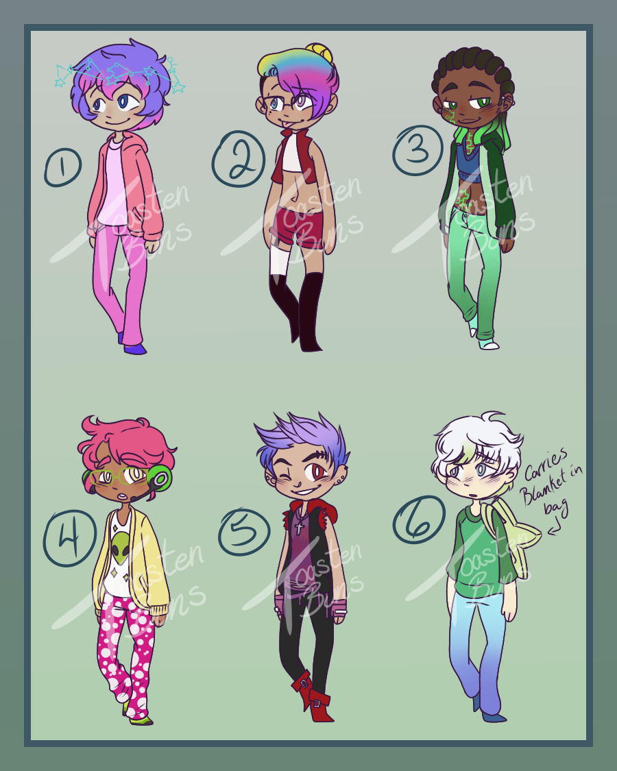 Adoptable Auction -Batch 1- 6/6