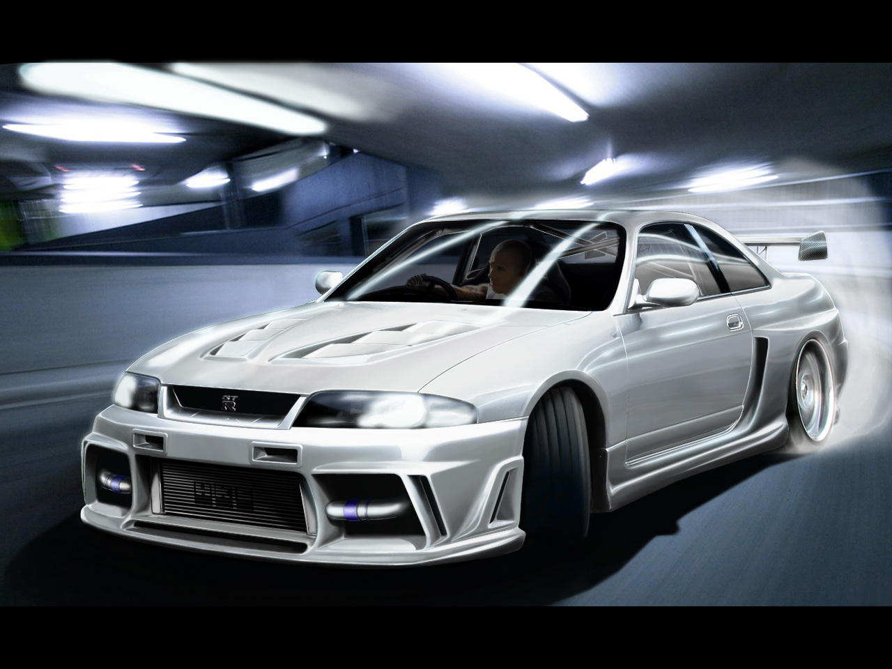 skyline gtr 33 by rookiejeno
