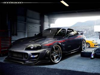 Toyota Supra Hunter by rookiejeno