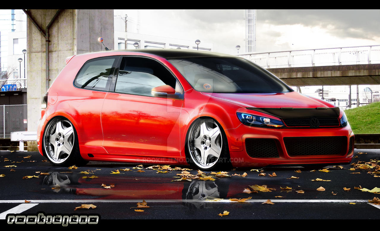 VW golf mkVI by rookiejeno