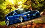 Honda CRX round 5