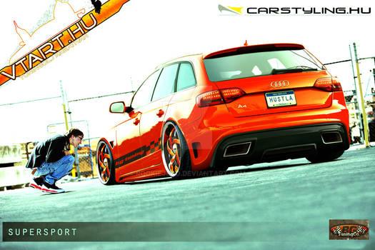 Audi A4 avant tuning show car
