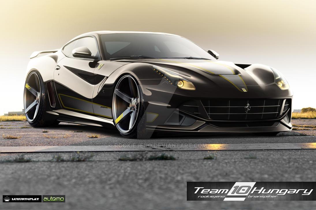 Wtb 2012 Round 1 Ferrari f12 by rookiejeno
