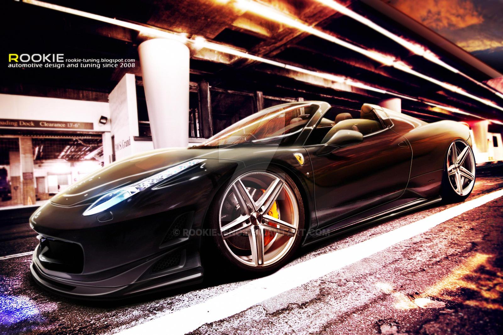 Ferrari 458 Italia by rookiejeno