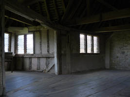 Stokesay castle 3 by GRANNYSATTICSTOCK