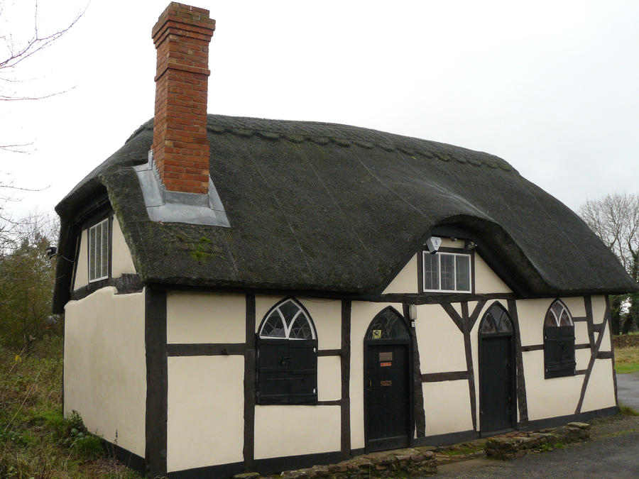 Grannys thatched cottage