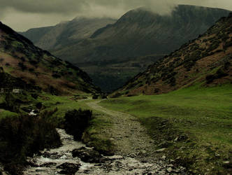 Grannys Mountain Background by GRANNYSATTICSTOCK