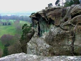 Cliff Edge by GRANNYSATTICSTOCK