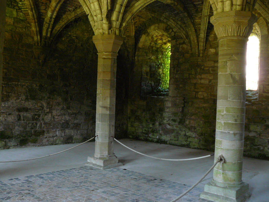 Vaulted roof 3 by GRANNYSATTICSTOCK