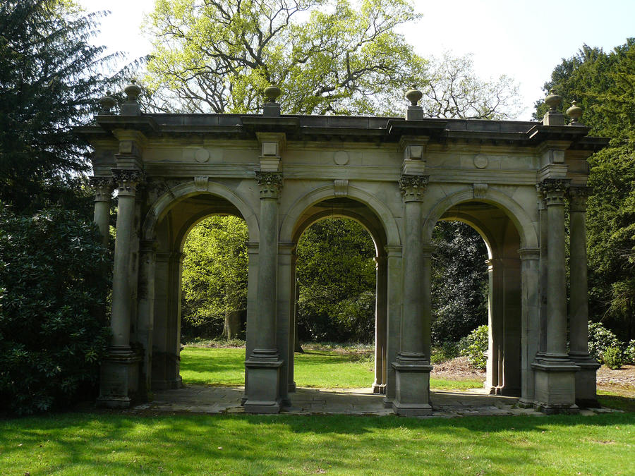 triple arches by GRANNYSATTICSTOCK