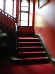 upstairs by GRANNYSATTICSTOCK