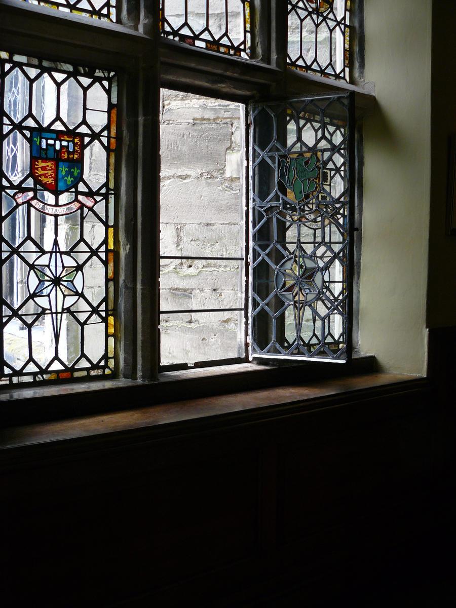 open window by GRANNYSATTICSTOCK
