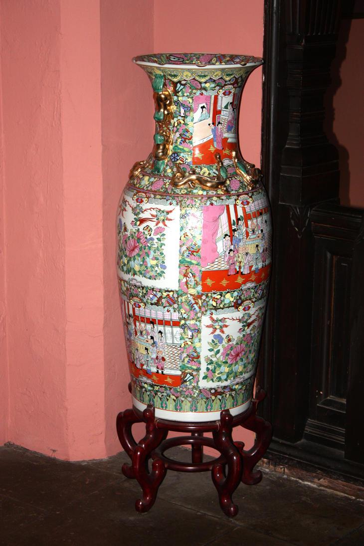 Grannysatticstock  Ornate Vase by GRANNYSATTICSTOCK