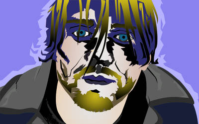 Kurt Cobain (Photoshop Pin Tool)