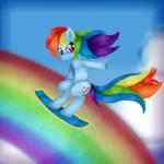 The Rainbow Surfer