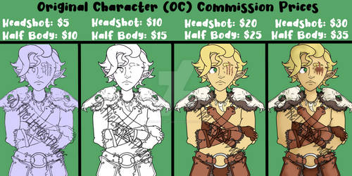 (OPEN) NEW COMMISSIONS!
