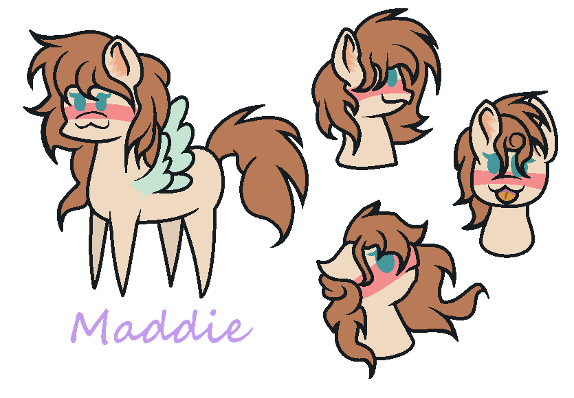THE CUTENESS(Maddie)2 by PonyPainterMaddie