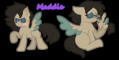 Chibified-Maddie-Version1 by PonyPainterMaddie