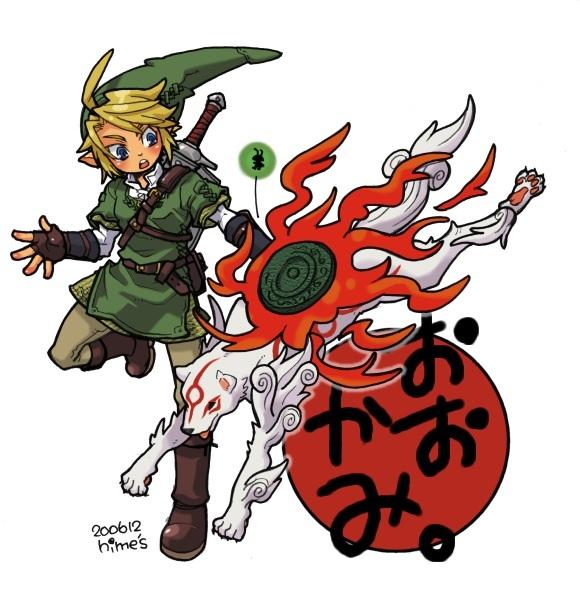 Link and Amaterasu by Emir10 on DeviantArt