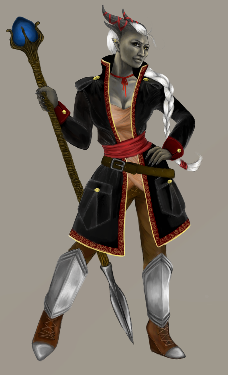 Female Qunari Inquisitor by rawenie on DeviantArt