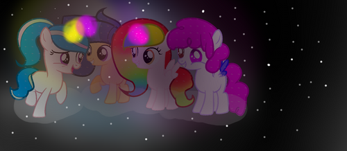 Mlp[next gen]3+1=4 Friends!! by SofiaKotik