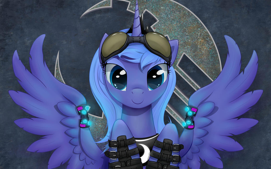 Raver Luna Revised (16:10) by xn-d