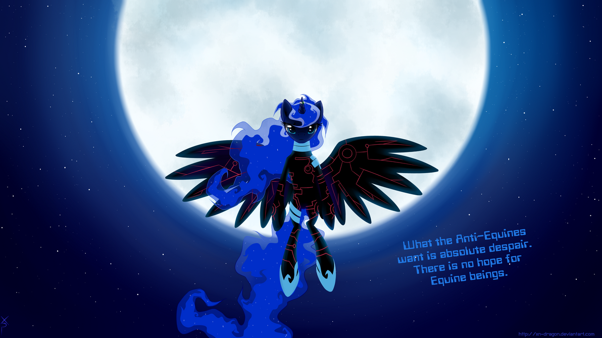 Princess Luna The Messenger by xn-d