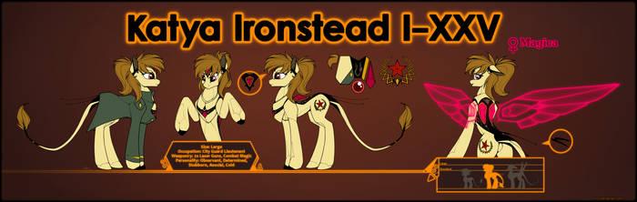 Ponymorph Katya Ironstead Reference Sheet