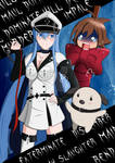 Esdeath, Koro, and Tatsumi